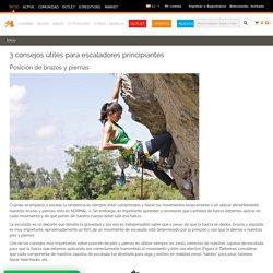 3 consejos útiles para escaladores principiantes
