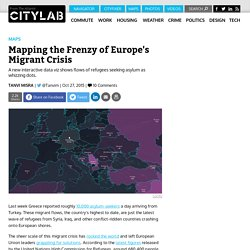 Watch Europe's Migrant Crisis Escalate in This Animated, Interactive Map