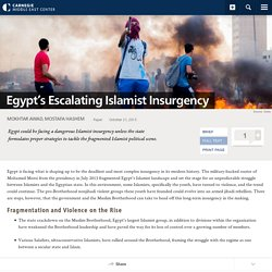 Egypt's Escalating Islamist Insurgency-Carnegie Middle East Center - Carnegie Endowment for International Peace