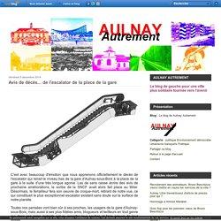 Avis de décès... de l'escalator de la place de la gare - Le blog de Aulnay Autrement