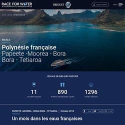 Escale : Polynésie française – Race For Water