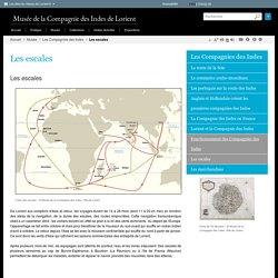 Les routes maritimes de la Compagnie des Indes de Lorient [carte]