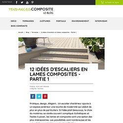 12 idées d'escaliers en lames composites - Partie 1