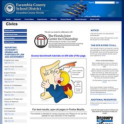 Escambia County School District: Civics