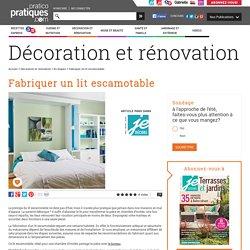 Fabriquer un lit escamotable - En étapes - Décoration et rénovation