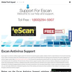 Escan Antivirus Support