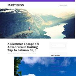 A Summer Escapade: Adventurous Sailing Trip to Labuan Bajo