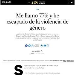 25N: He escapado de la violencia de género