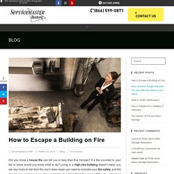 How to Escape a Building on Fire in Clearwater, FL