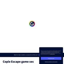 Escape game : La croissance