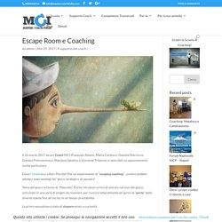 Escape Room e Coaching - Master Coach Italia - Scuola di Coaching