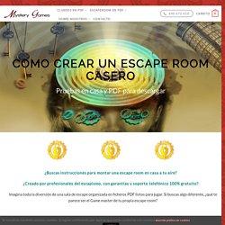 Escape Room Casero para Descargar - Actualizado【Marzo 2020】