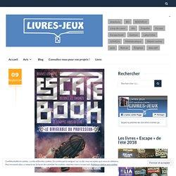 Escape book - Le dirigeable du professeur - LIVRES-JEUX