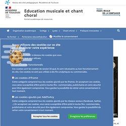 Education musicale et chant choral