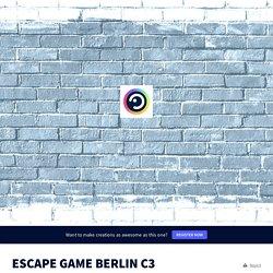 ESCAPE GAME BERLIN C3