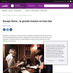 Escape Game : la grande évasion en huis clos