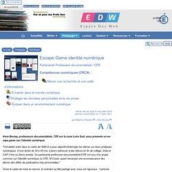 Escape Game identité numérique