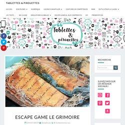 Escape Game Le Grimoire