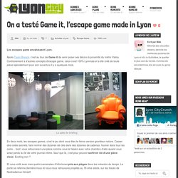 Escape Game Lyon : notre avis sur Game it