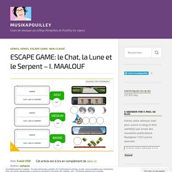 ESCAPE GAME: le Chat, la Lune et le Serpent – I. MAALOUF