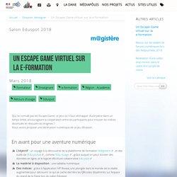 Un Escape Game virtuel sur la e-formation