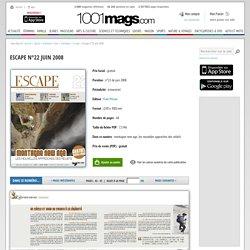Escape n°22 juin 2008 - Page 42 - 43 - Escape n°22 juin 2008 - Escape - montagne - individuel / loisir - Sports