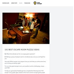 101 Best Escape Room Puzzle Ideas – Nowescape