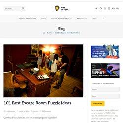 101 Best Escape Room Puzzle Ideas – Nowescape