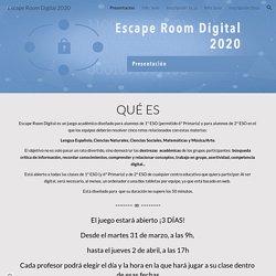 Escape Room Digital 2020
