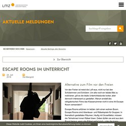 Escape Rooms im Unterricht