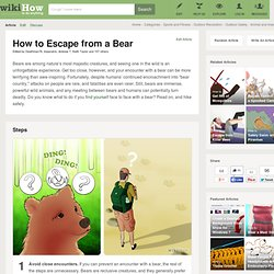How to Escape from a Bear