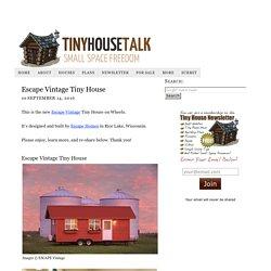 Escape Vintage Tiny House