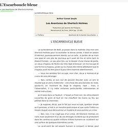 Les Aventures de Sherlock Holmes/L'Escarboucle bleue