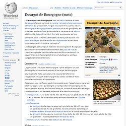 Escargot de Bourgogne (mets)