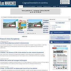 09/06/2011 Escargot : une industrie ralentie par la sécheresse