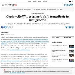 Ceuta y Melilla, escenario de la tragedia de la inmigración