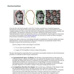 Escherization