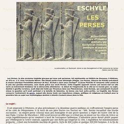 ESCHYLE : LES PERSES
