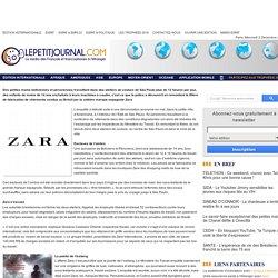 ESCLAVAGISME – Zara pointée du doigt