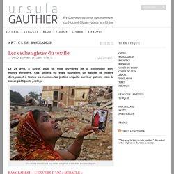 Les esclavagistes du textile - ursula gauthier