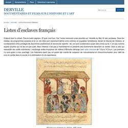 Listes d'esclaves français « Derville