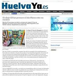 El colegio El Faro promueve el Año Platero entre sus escolares