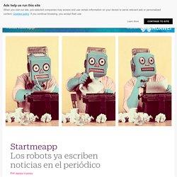 Los robots ya escriben noticias en el periódico