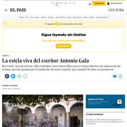 La estela viva del escritor Antonio Gala