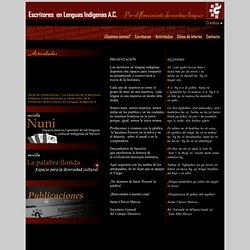 Escritores en Lenguas Indígenas A. C.