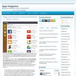 Feego, varios escritorios online para Marcadores ~ Apps-Magazine
