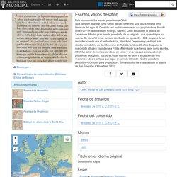Escritos varios de Otloh - Biblioteca Digital Mundial