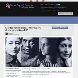 Escritos por mujeres: 140 libros para descargar gratis en PDF - Diario Digital Femenino