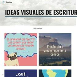 Escritura ideas visuales