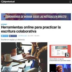 Sitios web para poner en práctica la escritura colaborativa
